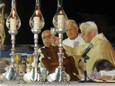 Papst Benedikt bei einer Messe in Santiago de Cuba. Foto: Osservatore Romano