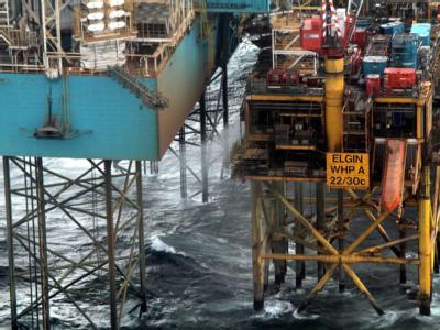 Gas-Plattform «Elgin»