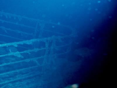Schiffsbug Titanic