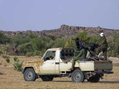 Tuareg-Rebellen in Mali