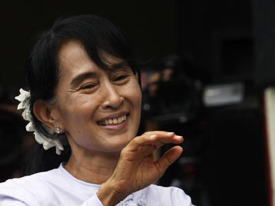 Nach Jahrzehnten der Unterdrückung zieht die NLD von Aung San Suu Kyi in das birmanische Parlament ein. Foto: Thet Htoo