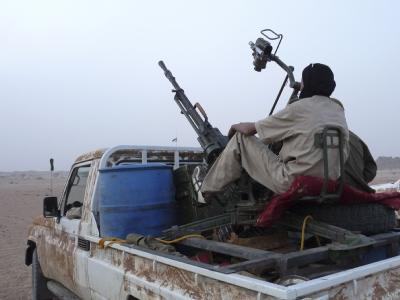 Nach einem militärischen Siegeszug im Norden Malis haben Tuareg-Rebellen das eroberte Gebiet für unabhängig erklärt. Der neue Staat soll Azawad heißen. Foto: epa/Archiv