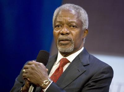 Kofi Annan, Sondergesandter der Vereinten Nationen für den Syrienkonflikt, muss um seinen Friedensplan bangen. Foto Ramin Talaie