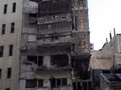Zerstörungen in der syrischen Stadt Homs. Foto: LCC / Archiv