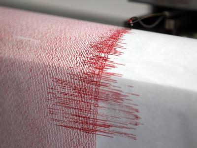 Erdbeben - Seismograph