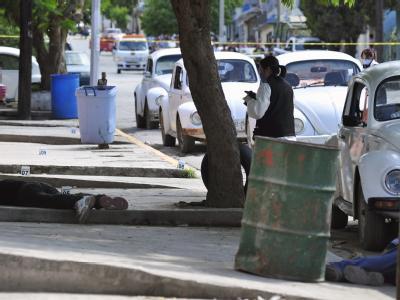 In Mexiko sind mehrere Taxifahrer ermordet worden. Eine Verbindung zur Drogenkriminalität wird nicht ausgeschlossen. Foto: Miguel Sierra