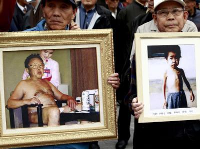 Diktatur und Hunger: Während Nordkoreas Machtelite wie einst der verstorbene Staatschef Kim Jong Il im Luxus lebt, verhungern Kinder in Nordkorea. Foto: Joen Heon-Kyun