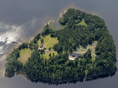 Auf der Insel Utøya soll der 33-Angeklagte 69 Menschen vorsätzlich ermordet haben. Foto: Lasse Tur Mapaid AS