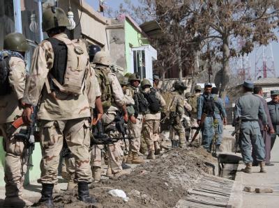 Schusswechsel in Kabul