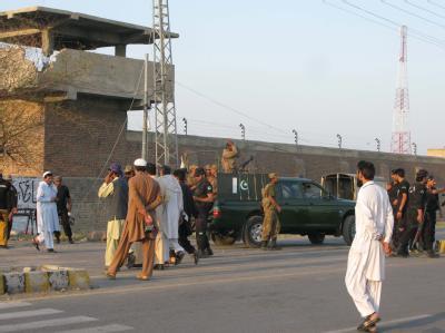 Bei dem Angriff auf das Hauptgefängnis in Bannu wurden mehrere hundert Häftlinge befreit. Foto: Rana Zahid