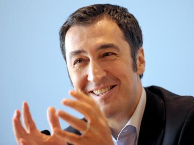 Der Parteivorsitzende von Bündnis 90 Die Grünen, Cem Özdemir. Foto: Caroline Seidel