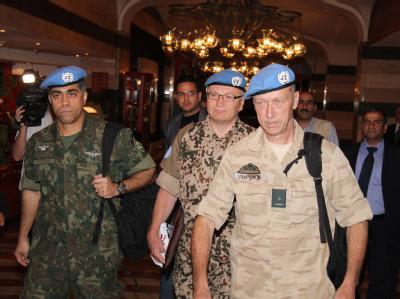 In Syrien zeichnet sich trotz Waffenruhe keine Entspannung ab. Die UN-Beobachter kämpfen mit Hindernissen. Foto: STR