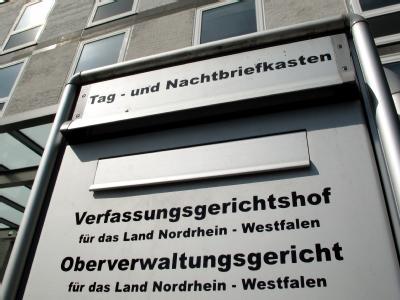 Der Verfassungsgerichtshof in Münster. Foto: Martin Gerten