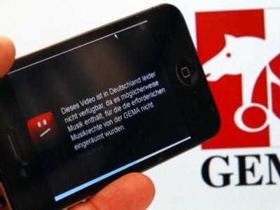 YouTube muss mehrere von der Musik-Verwertungsgesellschaft Gema genannte Musiktitel aus seinem Angebot entfernen. Foto: Jens Büttner