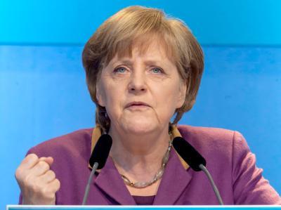 Bundeskanzlerin Angela Merkel. Foto: Michael Reichel/Archiv
