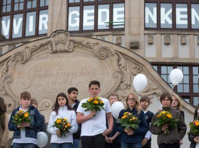 Gedenken an Schulmassaker von Erfurt