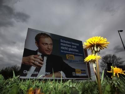 Die jüngsten Erfolge der FDP bei den Wahlen in Schleswig-Holstein und Nordrhein-Westfalen verblassen. Foto: Oliver Berg/Archiv