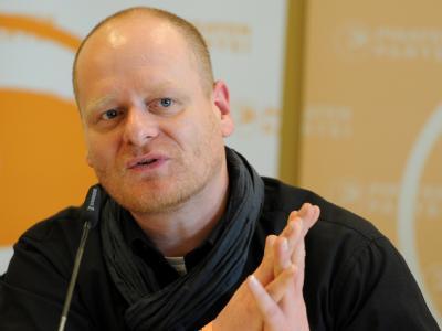 Der neue Parteivorsitzende der Piraten Bernd Schlömer. Foto: Angelika Warmuth/Archiv