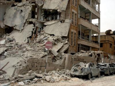 Sprengstoffanschl�ge in Idlib