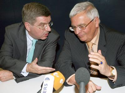 Thomas Bach und Theo Zwanziger