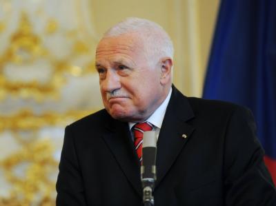 Auch der tschechische Präsident Václav Klaus hat seine Reise zum geplanten Gipfeltreffen Mitte Mai in der Ukraine abgesagt. Foto: Filip Singer