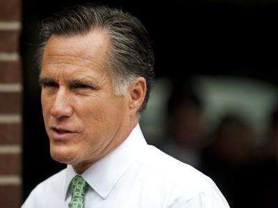 Mitt Romney kann sich nicht genau erinnern. Das Thema Homosexualität spielt derzeit eine große Rolle im US-Wahlkampf. Foto: Stephen Chernin