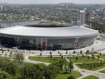 Die Donbass Arena in Donezk. Foto: Ukrainische Botschaft