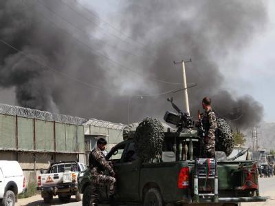 Die Taliban quittierten den Besuch Obamas mit dem Angriff eines ihrer Selbstmordkommandos. Foto: S. Sabawoon