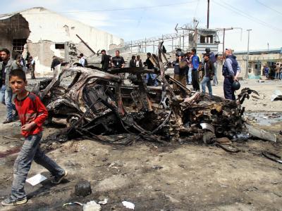 Kurz nach Obamas Besuch in Kabul wurden bei einem Anschlag acht Menschen getötet. Foto: S. Sabawoon