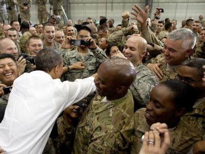 US-Präsident Obama in Afghanistan
