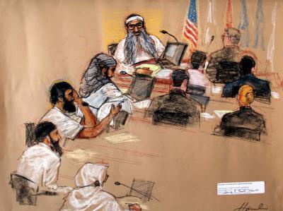 «Guantánamo Five» vor Gericht