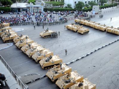Aufmarsch in Kairo