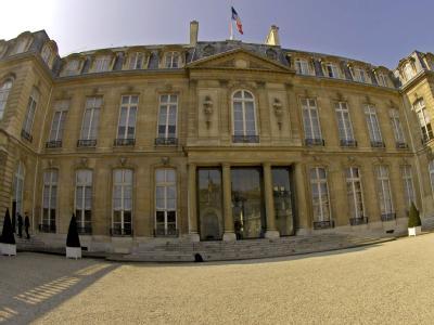 Wer wird hier einziehen? Der Elysee-Palast in Paris, Amtssitz des französischen Präsidenten. Foto: Horacio Villalobos