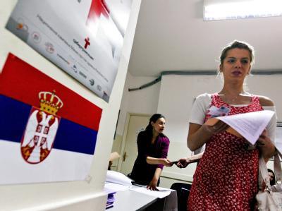 Wahl in Belgrad