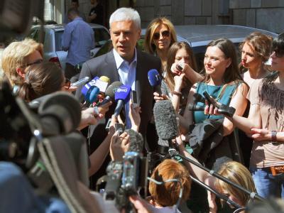 Serbiens langjähriger Staatschef Boris Tadic will auch in Zukunft das Balkanland steuern. Foto: Srdjan Suki