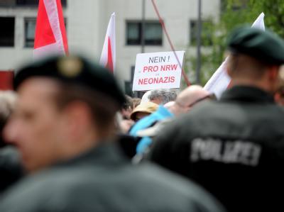 Pro NRW Kundgebung in Köln