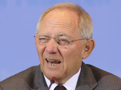 Die Euro-Zone ist nach Auffassung von Bundesfinanzminister Wolfgang Schäuble heute widerstandsfähiger als noch vor zwei Jahren. Foto: Wolfgang Kumm