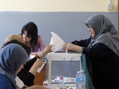 Die Islamisten haben ihren erhofften erdrutschartigen Sieg bei der Parlamentswahl in Algerien verfehlt. Foto: Mohamed Messara
