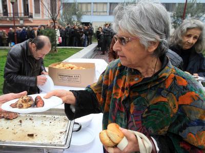 Kostenloses Essen in Athen