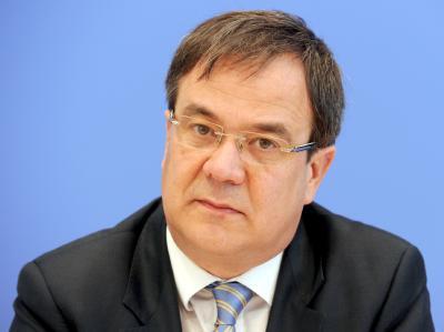 Fraktionsvize Armin Laschet wollte sich am Wahlabend nicht dazu äußern, ob er einen neuen Anlauf machen will, CDU-Landesvorsitzender zu werden.  Foto: Tim Brakemeier