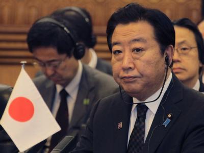 Der japanische Premierminister Yoshihiko Noda beim fünften trilateralen Gipfeltreffen zwischen China, Japan und Südkorea . Foto: Petar Kujundzic