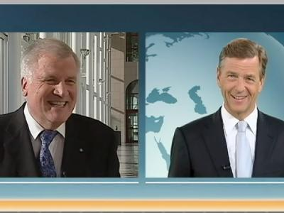 Seehofer-Interview im ZDF