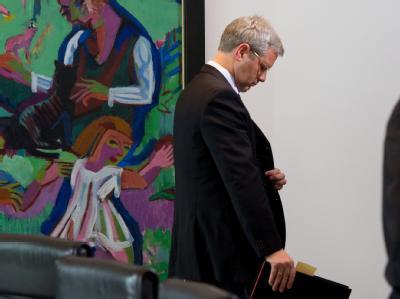 Bundesumweltminister Norbert Röttgen ist am Mittwochnachmittag entlassen worden. Foto: Soeren Stache