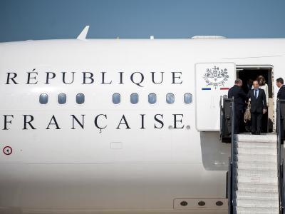 Ankunft Hollande