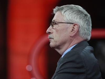 Thilo Sarrazin (SPD), ehemaliger Finanzsenator von Berlin, vor der Sendung