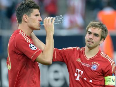 Gomez und Lahm