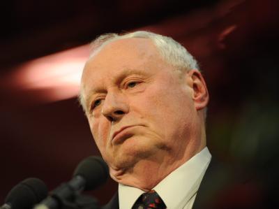 Der ehemalige Bundesvorsitzende der Partei Die Linke, Oskar Lafontaine, will nun doch nicht für den Linken-Vorsitz kandidieren. Foto: Becker&Bredel/Archiv