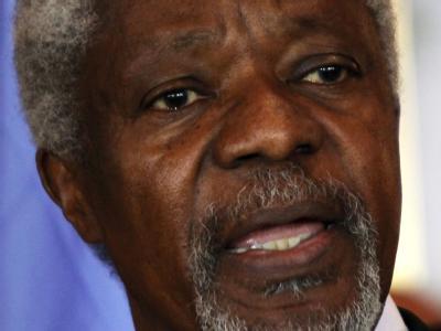 Kofi Annan sagte nach seiner Ankunft in Syrien, das Blutbad werde «schwere Folgen» haben. Foto: Youssef Badawi