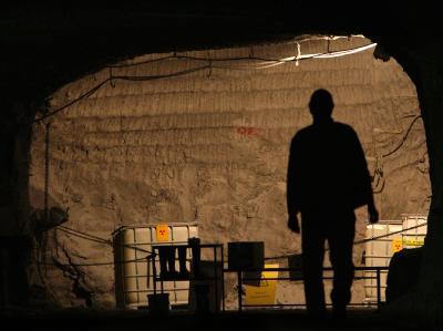 Das Atommülllager Asse liegt im Wahlkreis von SPD-Chef Sigmar Gabriel. Foto: Peter Steffen