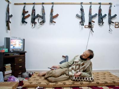 Noch halten die Rebellen in Syrien still. Foto: Vedat Xhymshiti